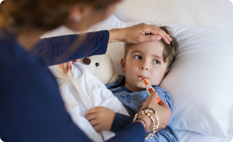 Schedule For A Sick Child